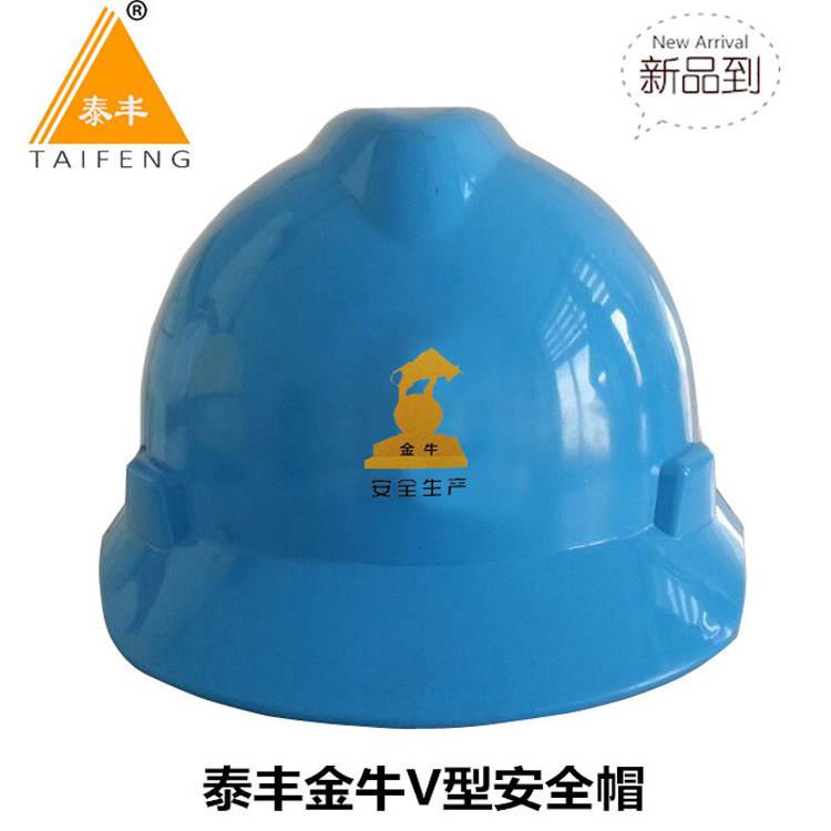 V型安全帽01蓝色